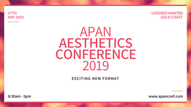 Aesthetics Conference Gold Coast 2019
